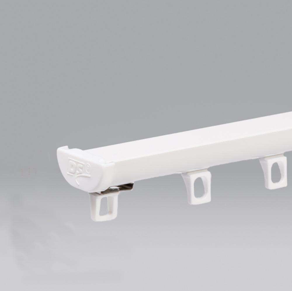 DS Aluminium WAVE Gordijnrails